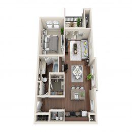 Bell Ken Caryl A1D Floor Plan