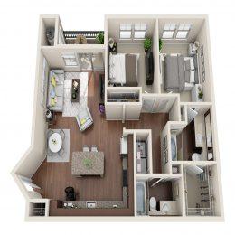 Bell Ken Caryl B2A Floor Plan