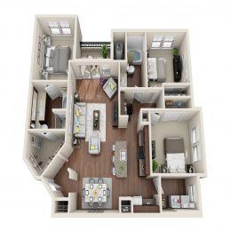 Bell Ken Caryl C2A Floor Plan